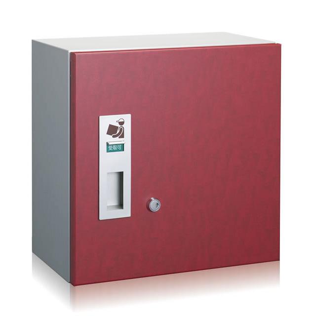 コーワソニア 宅配ボックス 3333R 右開き デザインウッド色 前入れ前出し シリンダー錠付き