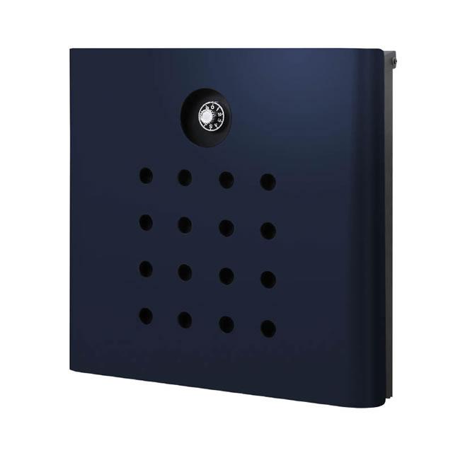 驚きの価格 オンリーワン 郵便ポスト イル ヴァリオ Punch パンチ NA1-IV06NB 壁掛タイプ ナイトブルー色 ダイヤル錠付き, アンティナギフトスタジオ 89c5336f