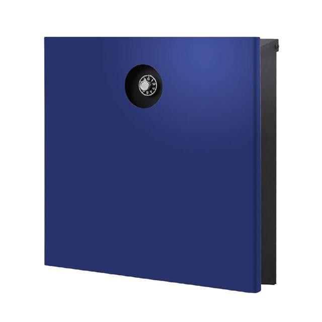 オンリーワン 郵便ポスト イル ヴァリオ Piano ピアーノ NA1-IV15YB 壁掛タイプ ロイヤルブルー色 ダイヤル錠付き