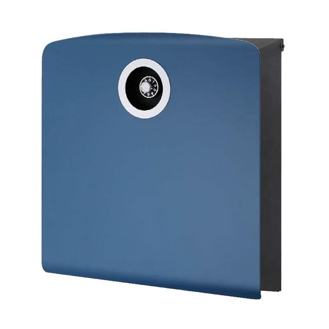 オンリーワン 郵便ポスト イル ヴァリオ Korat コラット NA1-IV20DL 壁掛タイプ ダルブルー色 ダイヤル錠付き