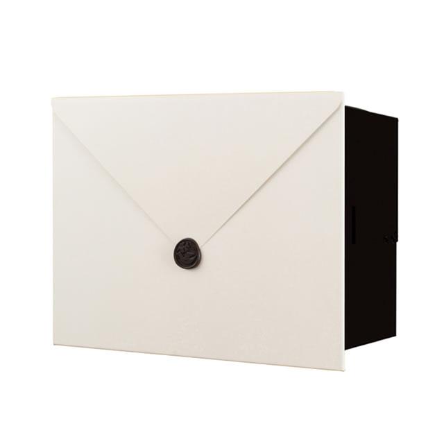 【オンライン限定商品】 鍵無し:エントランス 店 NA1-MPL14WM レター ネオ Type14 オンリーワン LETTER 郵便ポスト パーサス 埋め込みタイプ ホワイトマット色-エクステリア・ガーデンファニチャー