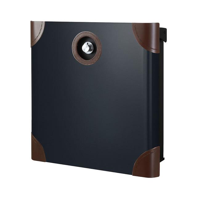 オンリーワン 郵便ポスト バリオ ネオ Borsa ボルサ type01-1 NA1-OAO11BM ブラックマット色 ダイヤル錠付き