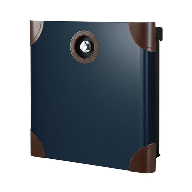 オンリーワン 郵便ポスト バリオ ネオ Borsa ボルサ type01-1 NA1-OAO11NB ナイトブルー色 ダイヤル錠付き