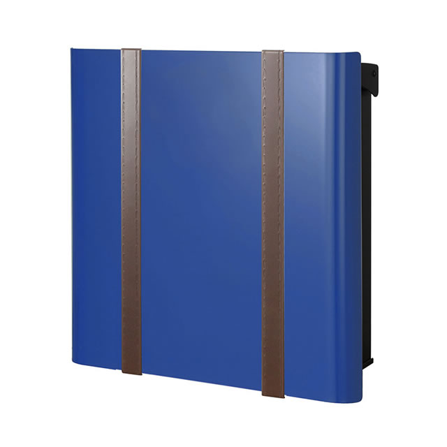 オンリーワン 郵便ポスト バリオ ネオ Borsa ボルサ type01-2 NA1-ONO12YB ロイヤルブルー色 鍵無し