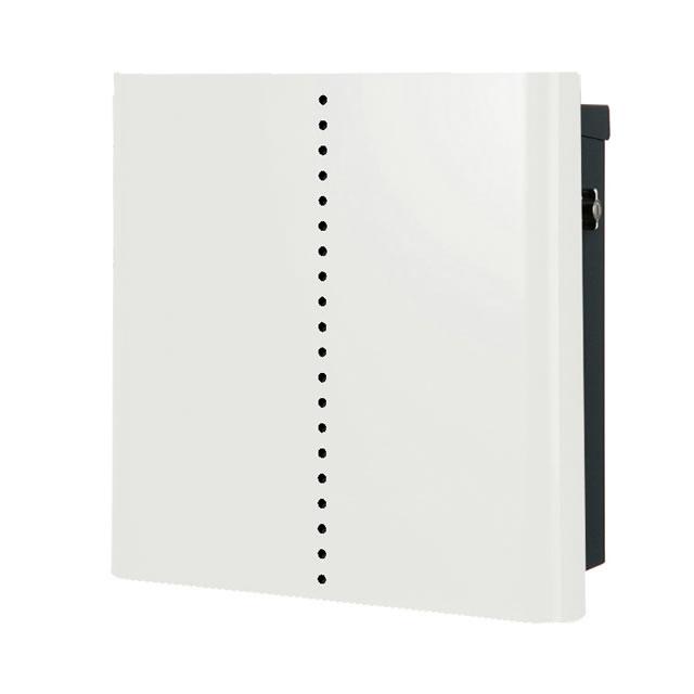オンリーワン 郵便ポスト バリオ ネオ Mute ミュート NA1-OT18WH ホワイト色 Tカムロック付き