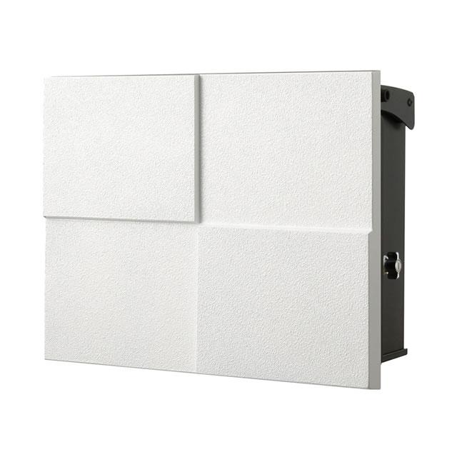 オンリーワン 郵便ポスト パーサス ネオ DECO デコ NA1-PT07FW 壁掛タイプ フロストホワイト色 鍵付き