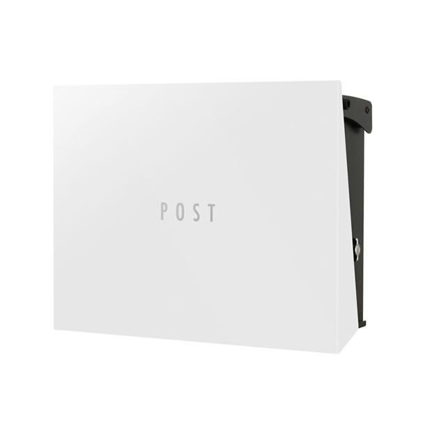 オンリーワン 郵便ポスト パーサス ネオ Type12 PLAIN プレーン NA1-PT12WH 壁掛タイプ ホワイト色 T型カムロック付き