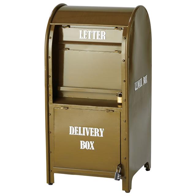 セトクラフト 宅配メールボックス (U.S.MAIL) グリーン SI-3200-GR-3200