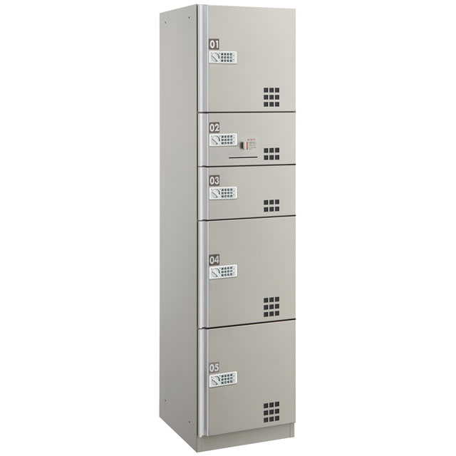 ダイケン 宅配ボックスBD3型 プッシュボタン錠タイプ(可変式) スチール扉(ステンカラー) TBX-BD3SSN SSNユニット(捺印付)
