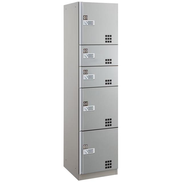 ダイケン 宅配ボックスBD4型 プッシュボタン錠タイプ(可変式) ステンレス貼り扉 TBX-BD4SS SSユニット