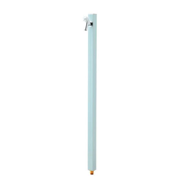 オンリーワン 水栓柱 アクアルージュ TK3-SKIB アイスブルー色