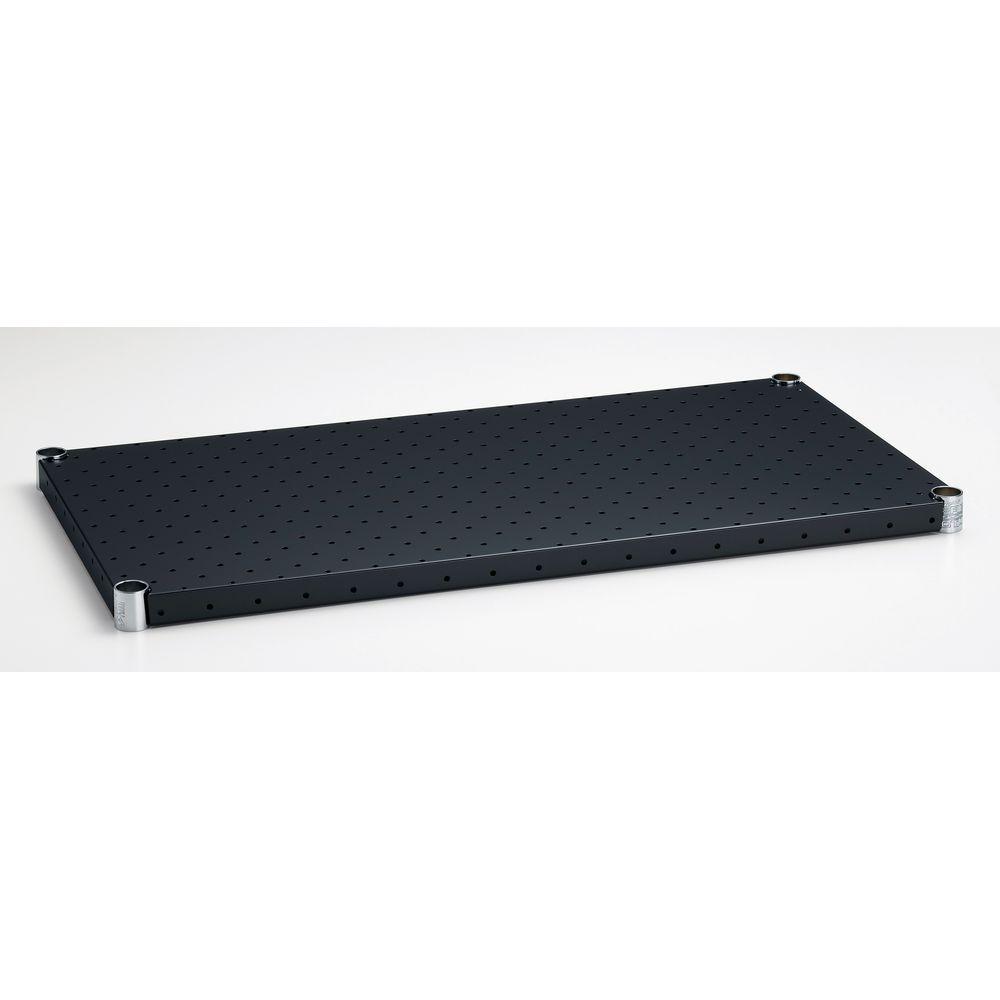 [Home ERECTA]ホームエレクター パンチングシェルフ ブラック H1836PB1 900×450mm【エレクター以外と同時購入不可】【代引き不可】