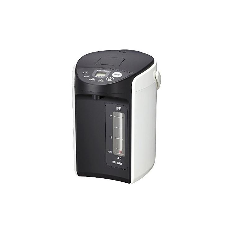 タイガー魔法瓶 VE電気ポット 3.0L とく子さん PIQ-A300-W Tiger