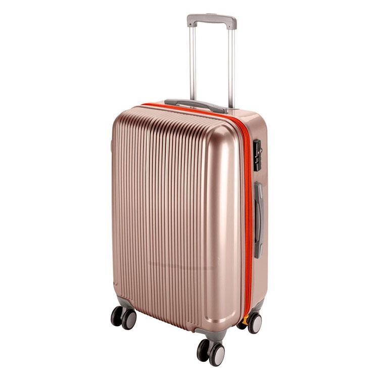 CAPTAIN STAG/キャプテンスタッグ グレル トラベルスーツケース(TSAロック付ダブルファスナータイプ)〈L〉(シャンパンベージュ) UV-22