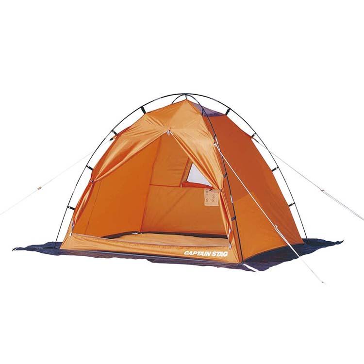 使いやすくて お手頃な価格 ファミリーキャンプを始めるなら最適なキャンプ用品の総合ブランド CAPTAIN M-3109 直輸入品激安 ワカサギテント160〈2人用〉オレンジ STAG キャプテンスタッグ 超美品再入荷品質至上