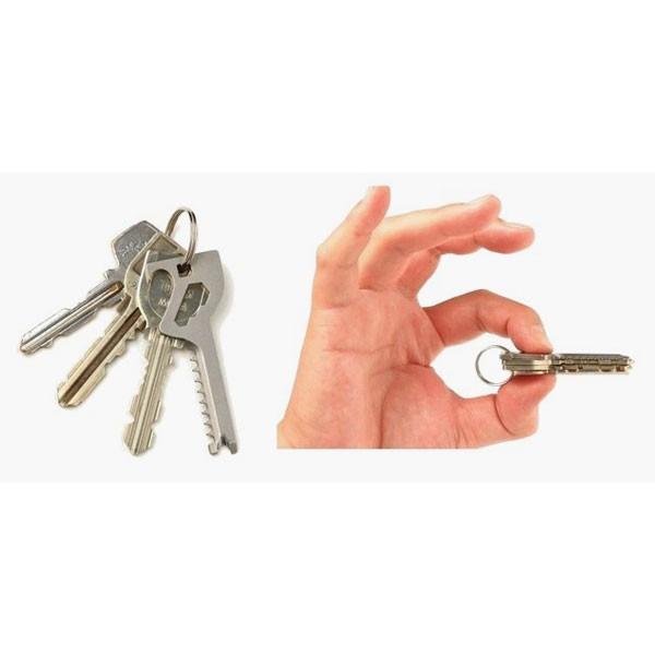 多工具6in1钥匙型便利工具工具日本制造Key-Quest/键探求