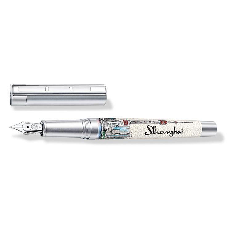 ステッドラー コリウムウルベス 上海 万年筆 ペン種:F 9PU152F 正規輸入品