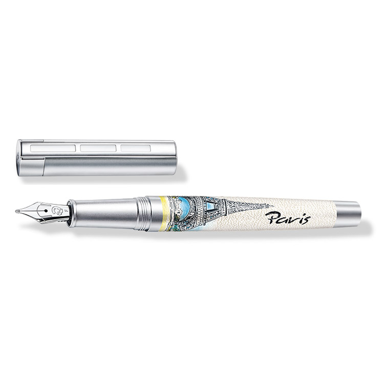 ステッドラー コリウムウルベス パリ 万年筆 ペン種:F 9PU102F 正規輸入品