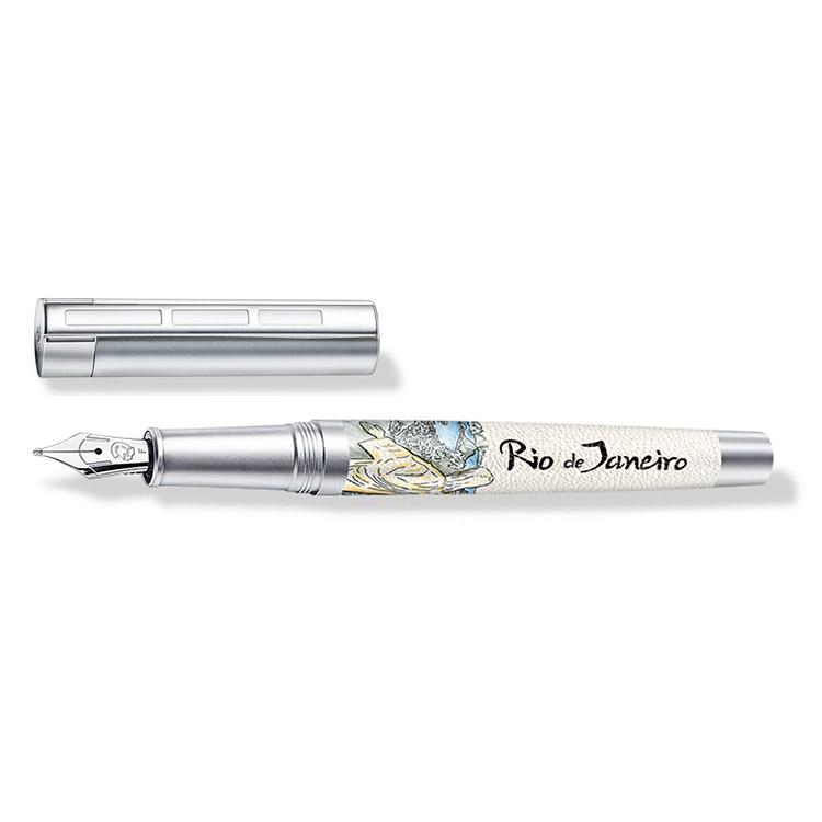 ステッドラー コリウムウルベス リオデジャネイロ 万年筆 ペン種:F 9PU132F 正規輸入品