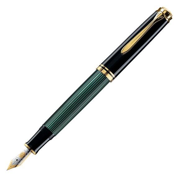 ペリカン 万年筆 M1000 スーベレーン 緑縞 正規輸入品(75000)