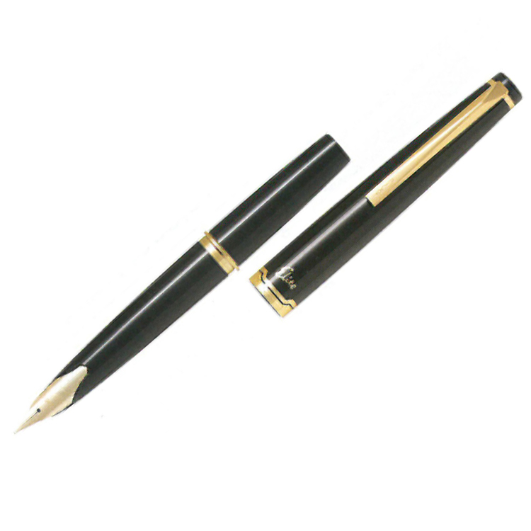 Pilot pen elite 95 s black FES-1MM-B pen type f (fine) regular imports Φ