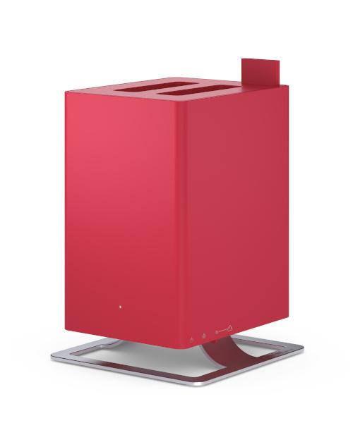 【超音波式加湿器】Stadler Form スタドラフォーム Anton アントン レッド | 加湿器 超音波式 おしゃれ アロマ 寝室 コンパクト 10畳 オフィス 経済的 静か