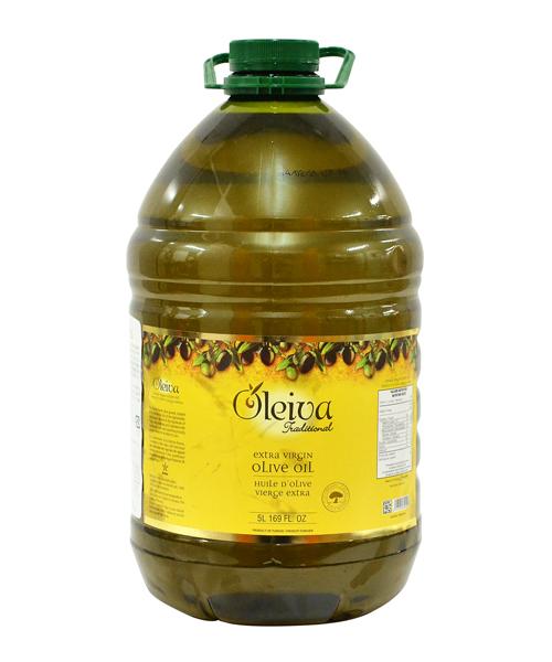 オリーブオイル OLEIVA(オレイバ) トラディショナルエキストラバージンオイル 5L | チュニジア産 パスタ ドレッシング ポリフェノール オレイン酸 イタリアン ヘルシー ピザ アヒージョ お料理 大容量