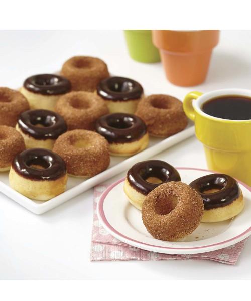 Wilton 12 Cavity MINI Donut Pan NEW 2105-0614 Doughnut