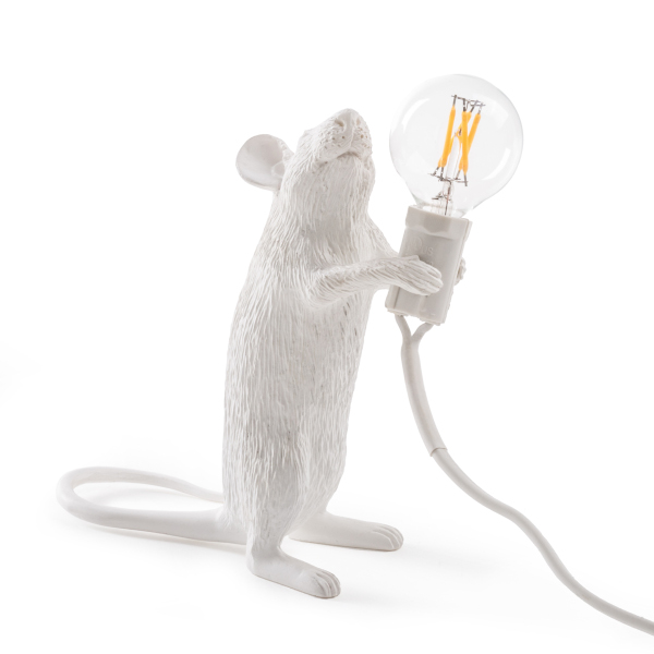 SELETTI マウスランプ#1 スタンディング | インテリア マウス 照明 ランプ ネズミ 干支 子年