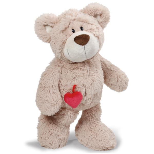 NICI ニキ ラブベア クラシック 120cm/BN | 動物 熊 クマ ベア Bare ハート heart アニマル ぬいぐるみ キッズ ベビー ギフト 贈物 手ざわり ふわふわ ポポ ララ