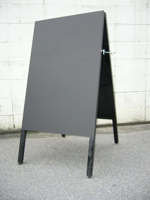 ★看板・A型両面メニュー黒板★Lサイズ【送料無料】