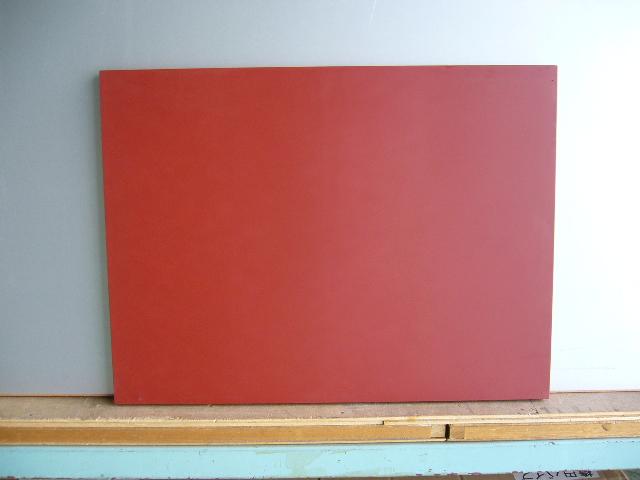 ★看板・メニューボード★ 木製黒板(赤色)受け皿なし 1800×900 【送料無料】