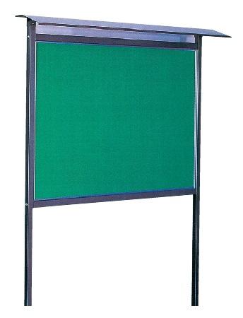 【超新作】 屋根付掲示板(ガラスなし)1200×900mm[国産], クローバープレイン:e3ecd883 --- uniquefinmart.com