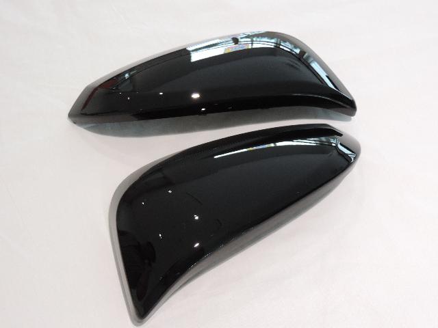 TOYOTA 超美品再入荷品質至上 トヨタ純正60系ハリアー用ドアミラーカバー左右セット80系ヴォクシーに流用可能 卓抜 純正カラー番号202 国内正規純正部品 黒耳 ブラック