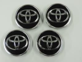 安心と信頼 国内正規純正部品 TOYOTA トヨタ 40系プリウスα ブラック 純正センターキャップ 4個セット 休み