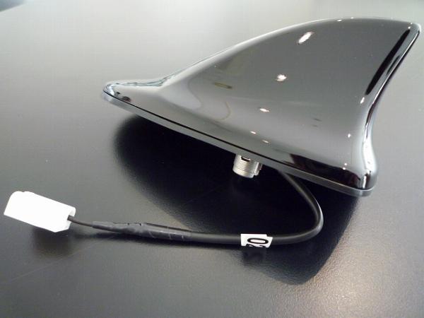 トヨタ純正 200系 クラウン ルーフシャークアンテナ ブラック(202) 黒 シャークフィン ドルフィン 他車流用可能