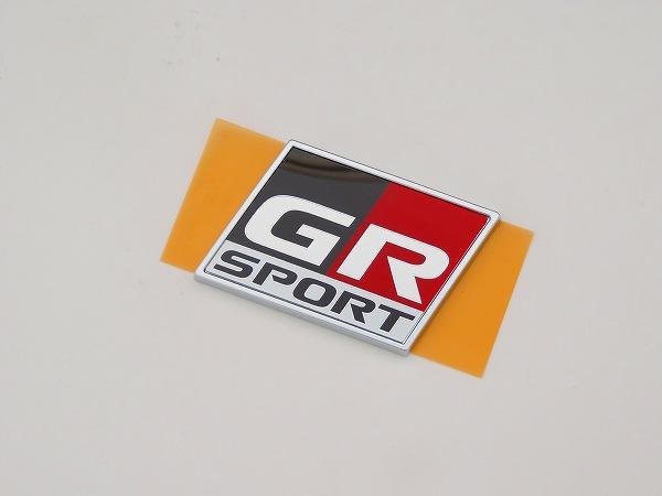 正規品 トヨタ純正C-HR GRスポーツ用バックドア エンブレム他の車種などに流用可能NGX50 NGX10 TOYOTA 国内正規純正部品 値下げ ZYX11 H31.10~代引不可