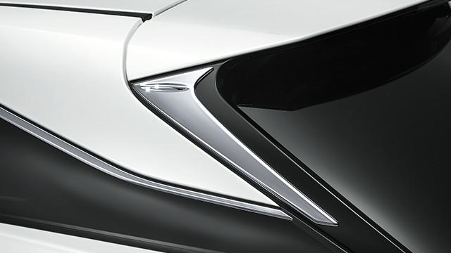 【モデリスタ】レクサス20系RX純正オプション「バックドアエアロプレート」