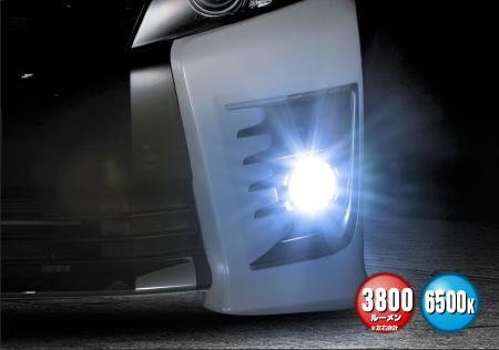 GLANZ グランツ LEDフォグランプ専用 レボリューション 12V PSX26W ホワイト 3800㏐/6500k