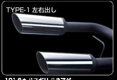 ケースペック 爆音皇帝 マフラー アルファード MNH10/15 ANH10/15 Vip Sound Emperor ビップサウンドエンペラー TYPE-1シングル左右 タイプ1