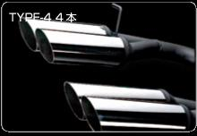 ケースペック 爆音皇帝 マフラー アルファード MNH10/15 ANH10/15 Vip Sound Emperor ビップサウンドエンペラー TYPE-4 ダブル左右出し タイプ4