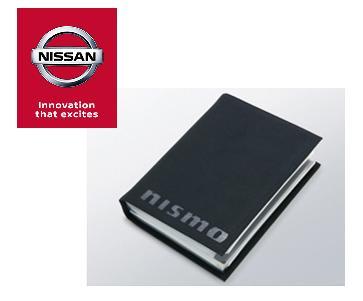 NISSAN 特別セール品 日産コレクションNISMO ニスモ車検証ケース ニッサン車検証入れ 期間限定送料無料 ブラックウルトラスエード 黒