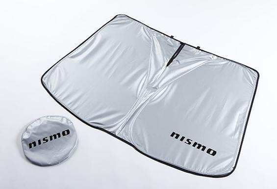 ニッサン 日産コレクションNISMO ニスモ E12 ノート用フロントシェード全グレード対応日よけ サンシェード バイザー
