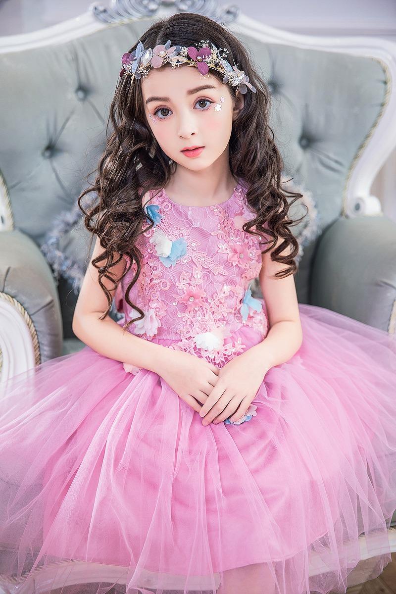 2326be1c50503 楽天市場 ドレス 女の子 フォーマルドレス 子供服 ピンク パステル ...