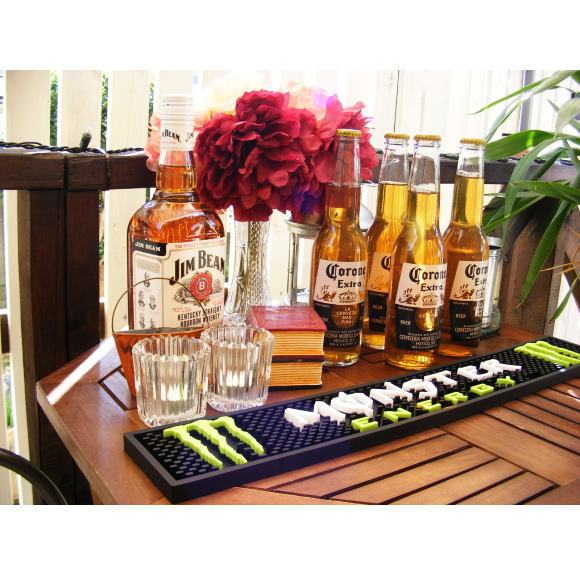 Monster Energy bar mats rubber mat (energy drink promotional products)