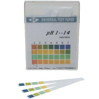こどもの自由研究 ペット尿検査 水質調査 pHを測る おしっこシート 水のPH測定 pH試験紙 スティックタイプ pH1-14 1箱 ペット 器具 アクアリウム 自由研究 100枚 ペットグッズ 熱帯魚 水質管理関連 お中元 水質測定剤 新品 用品