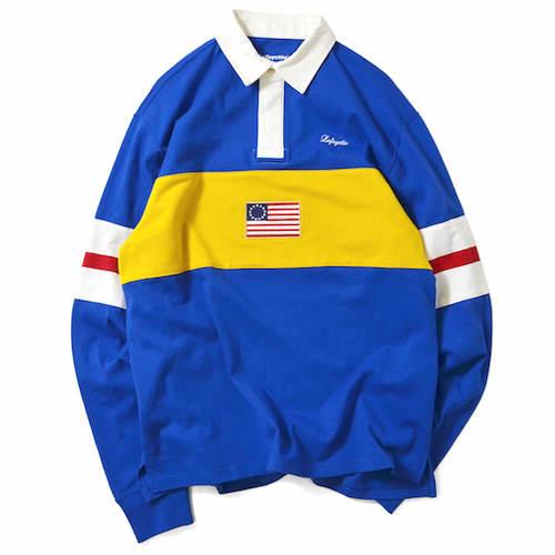 ラファイエット LAFAYETTE ラガーシャツ ラグビーシャツ メンズ STREET ストリート SKATE スケート レターパックプラス可 LFT18AW039