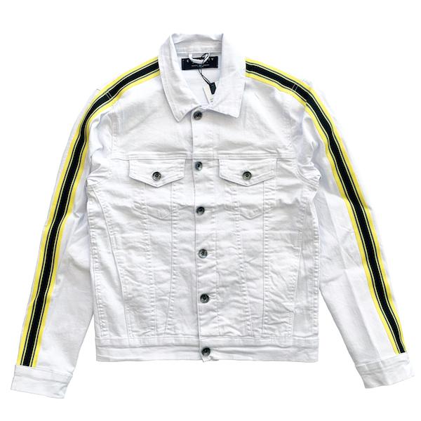 ハドソンアウトウェアー HUDSON OUTWEAR デニムジャケット ライン ジージャン セットアップ STREET ストリート アメリカブランド