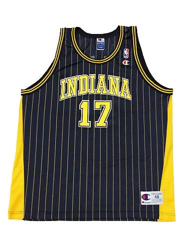 【CHAMPION】NBA PACERS MULLIN BASKETBALL JERSEY [BLACK:XL(48)] / チャンピオン ペイサーズ バスケットジャージー