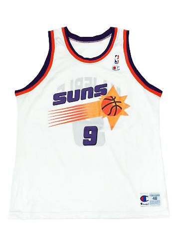 【CHAMPION】NBA SUNS MAJERLE BASKETBALL JERSEY [WHITE:XL(48)] / チャンピオン サンズ バスケットボール ジャージー